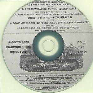 Hollington Church in-the Wood Parish Registers 1813-1837 CD