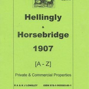 Hellingly & Horsebridge, Sussex 1907 A-Z [A5]
