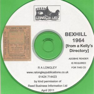 Bexhill Directory [Kelly's] 1964 CD